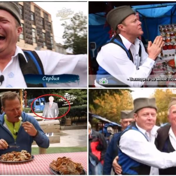 OVO JE NESTVARNA ZEMLJA LEPIH LJUDI I NENORMALNO UKUSNE HRANE! Rus snimio emisiju o Srbiji i OSTAO BEZ TEKSTA! I vi ćete! (VIDEO)