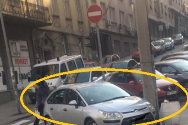 ALAL TI VERA MAJSTORE! Jeste li videli BAHATIJE parkiranje u Beogradu? I TO NADOMAK MUP! (FOTO)