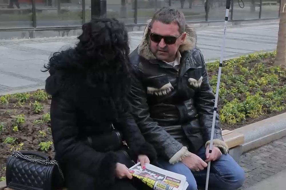 Boban je slep već deceniju, a jedan dan s njim je dovoljan da PROGLEDATE! (VIDEO)