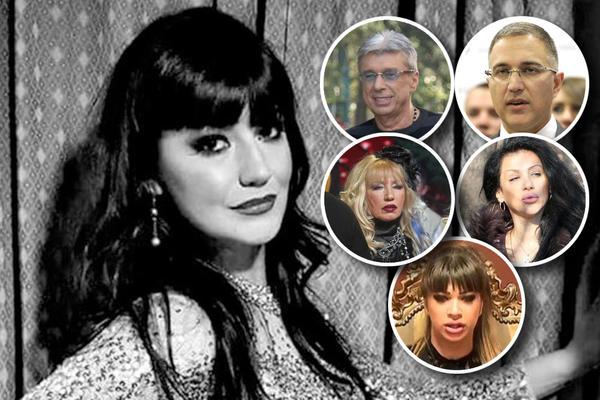 DA LI NEKO OD NJIH ZNA KO JE UBIO JELENU? Ovo su svi poznati koje su govorili o ubijenoj pevačici! (FOTO)