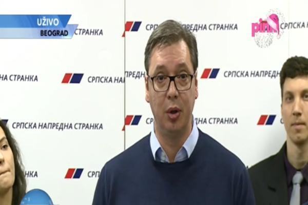 UBEDLJIVA POBEDA SNS-A U PEĆINCIMA! Vučić: Osvojili smo 77,71 odsto glasova