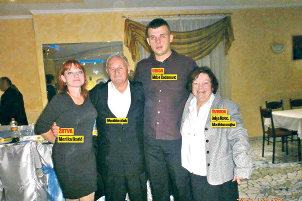 Ubijena Monika Ikotić sa porodicom