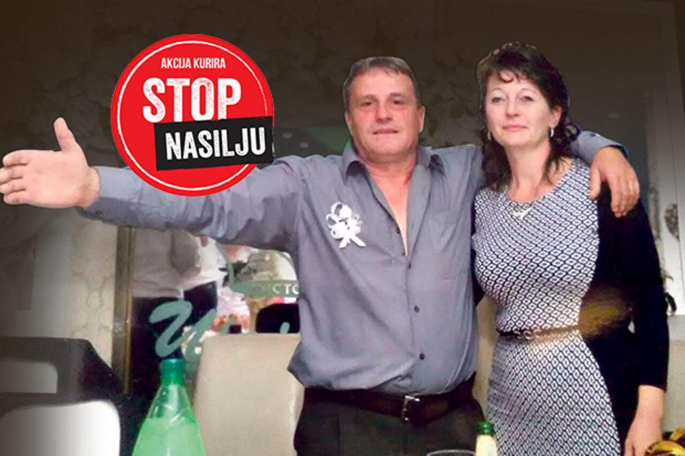 Mirjana Anđelković i suprug Ratko koji ju je ubio