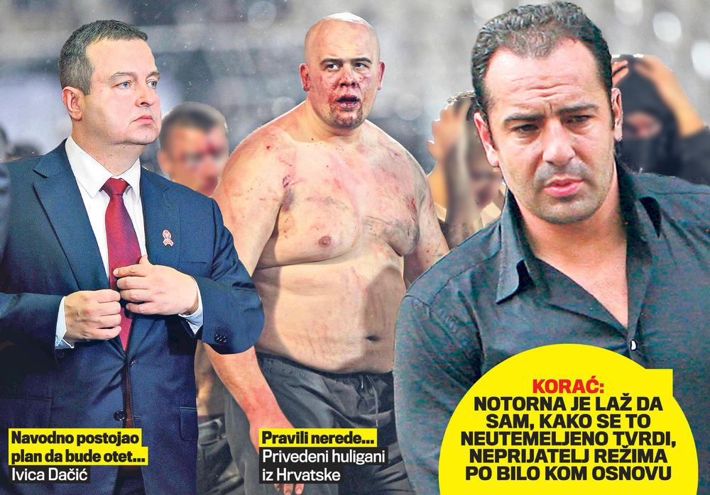 Koraća optuživali da je planirao otmicu Dačića