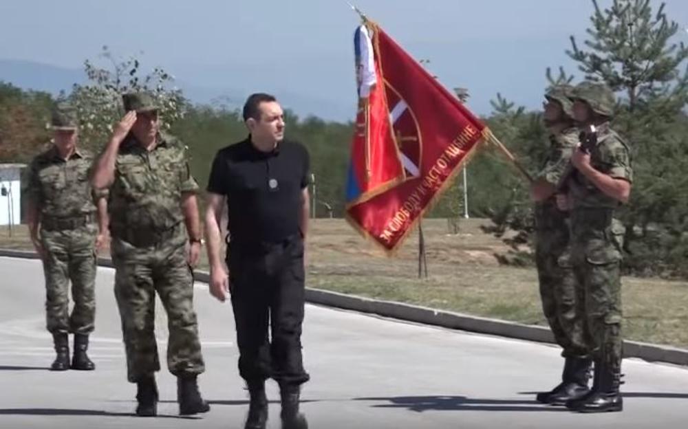 Ministar odbrane obišao je bazu 'Jug