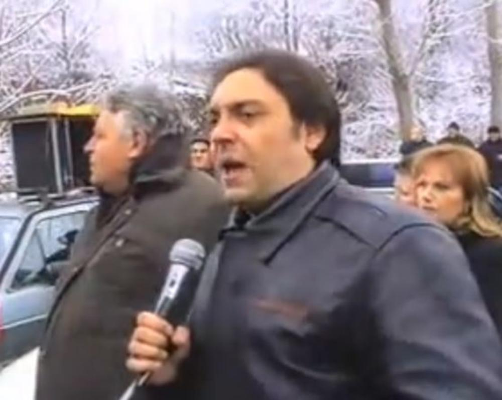Vulin na protestu u Kuršumliji