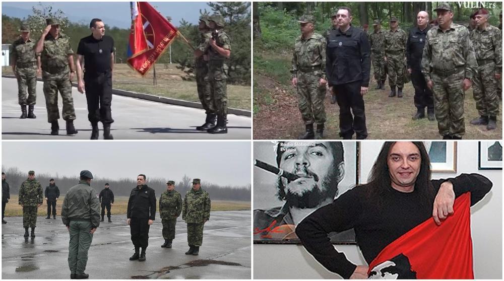 Ministar odbrane Aleksandar Vulin obožava uniformu