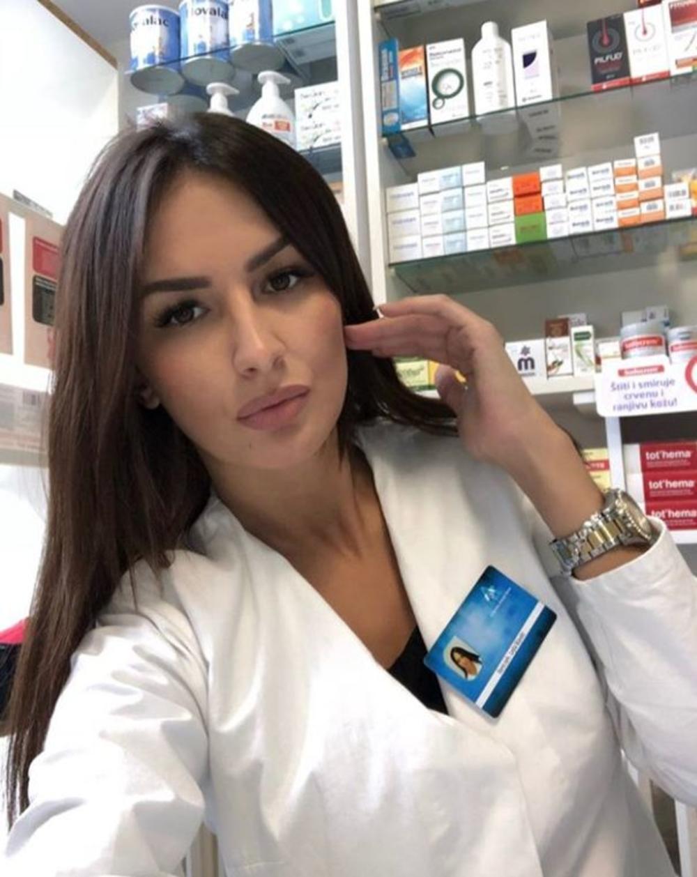 Zatrebaće vam neki lek sigurno kad dođete na šalter i ugledate nju