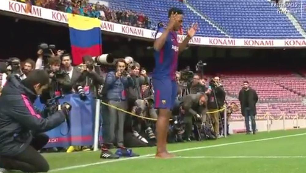 foto: Printscreen / Twitter / FC Barcelona