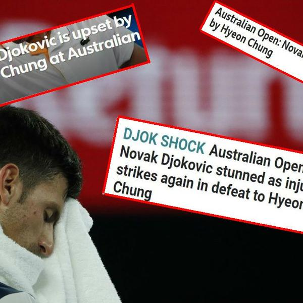 ĐOK ŠOK! Ovako su svetski mediji ispratili eliminaciju Novaka Đokovića u Melburnu! (FOTO)