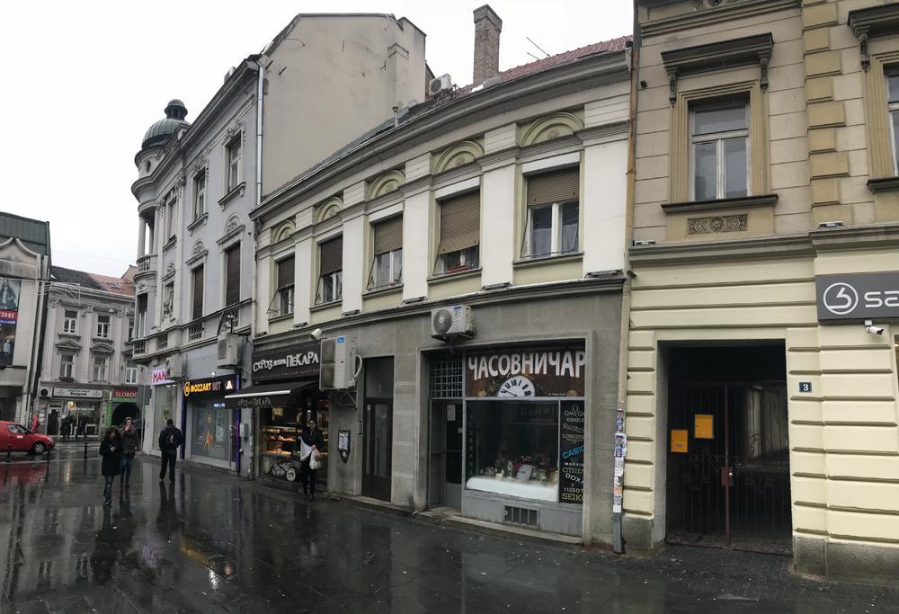 Zgrada u Zemunu u ulici Gospodska broj 1 koja je pod zaštitom države