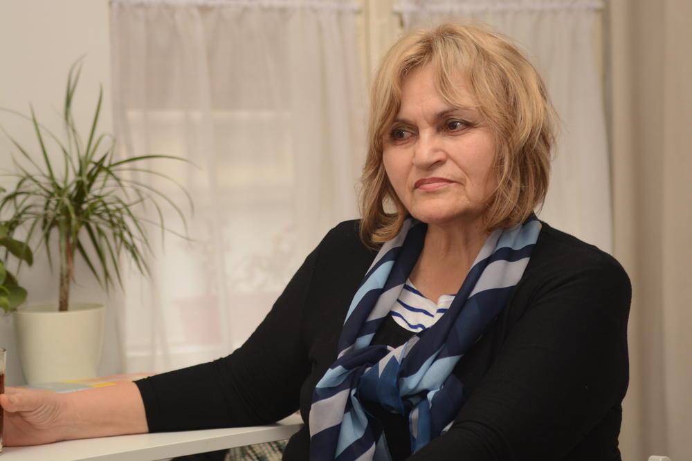 Ljiljana Mićević, predsednica Savate stanar u zgradi u gospodskoj ulici u Zemunu