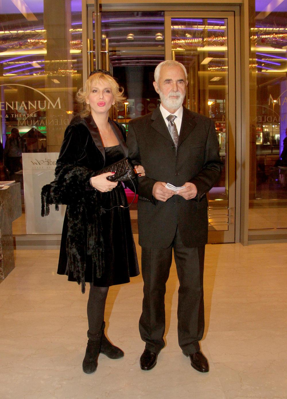 Ivana sa ocem Gordanom Mihićem