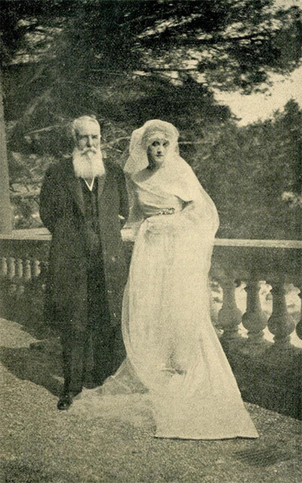 Nikola Pašić sa ćerkom