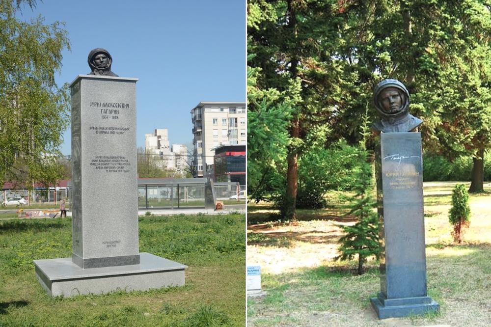 Bruka Sa Spomenikom Gagarinu Je Bila Jos Veca Nego Sto Smo Mislili