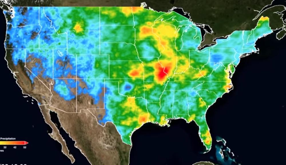 Nivomora na istočnoj obali SAD-a će se podići i ugroziće važne tropske kiše