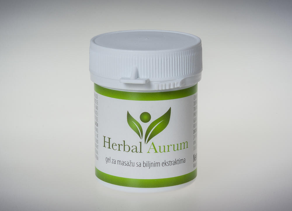 Herbal Aurum gel