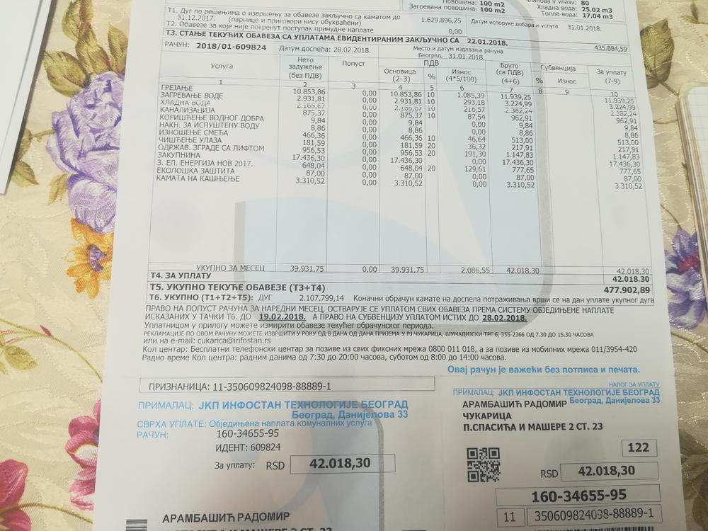 Nagomilani dug porodice Arambašić
