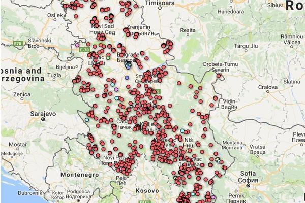 Interaktivna Mapa Espreso