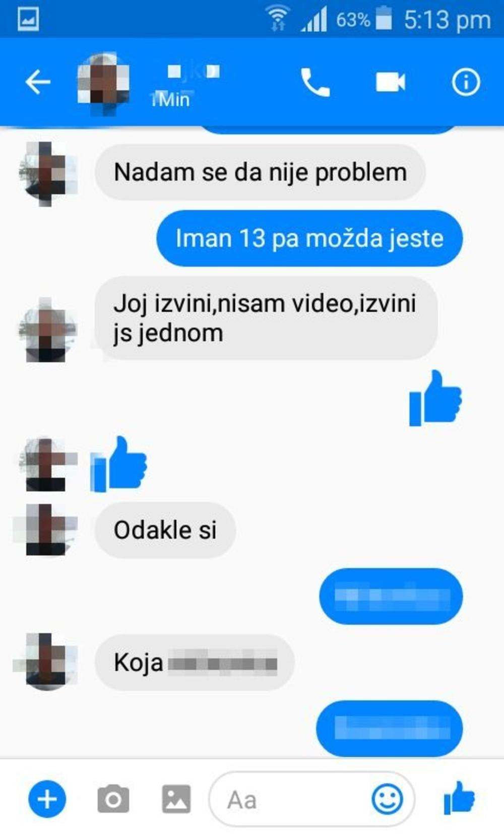 Pedofil VRBOVAO devojčicu na Fejsbuku
