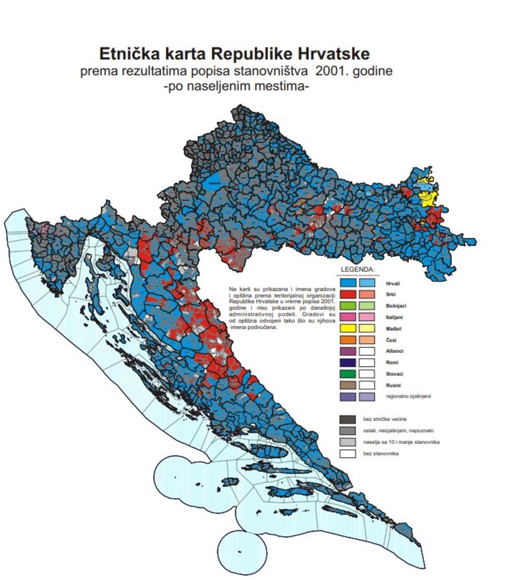 Demografija Hrvatske