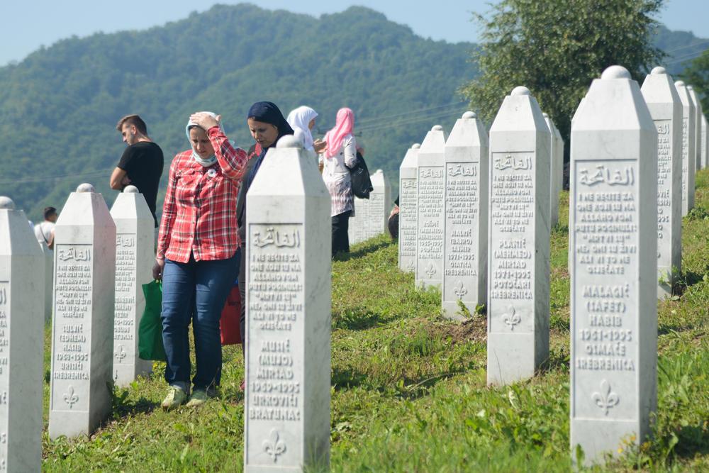 Groblje u Srebrenici