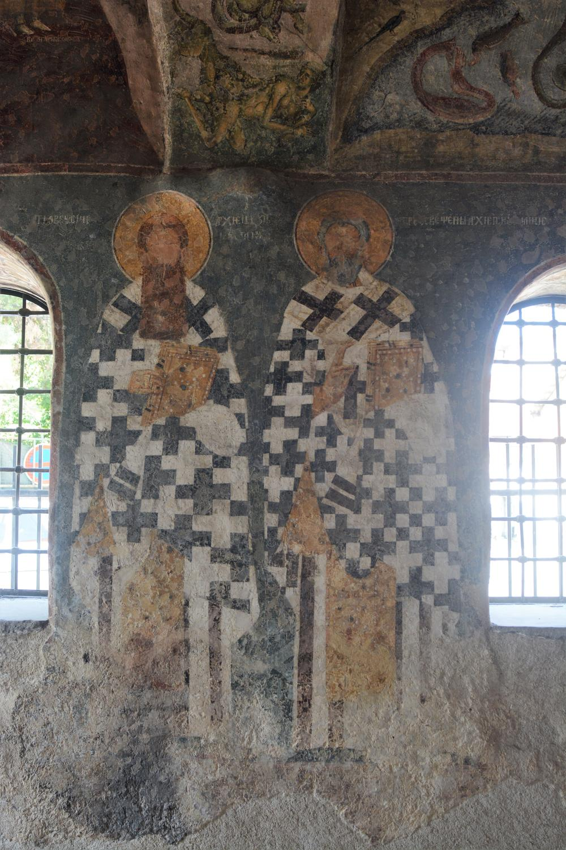 Skrnavili su freske