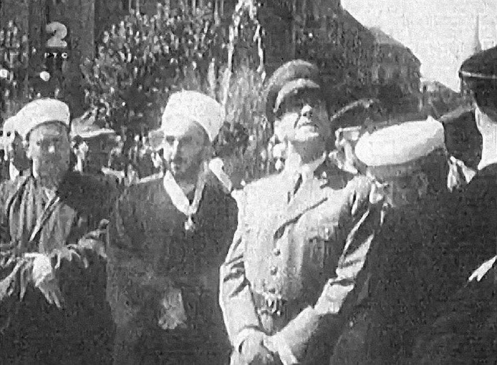 Ante Pavelić na otvaranju džamije u Zagrebu