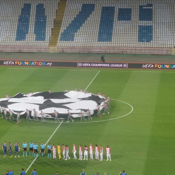 Džaba vam UEFA, džaba vam EU! Marakana je prazna, ali pesma