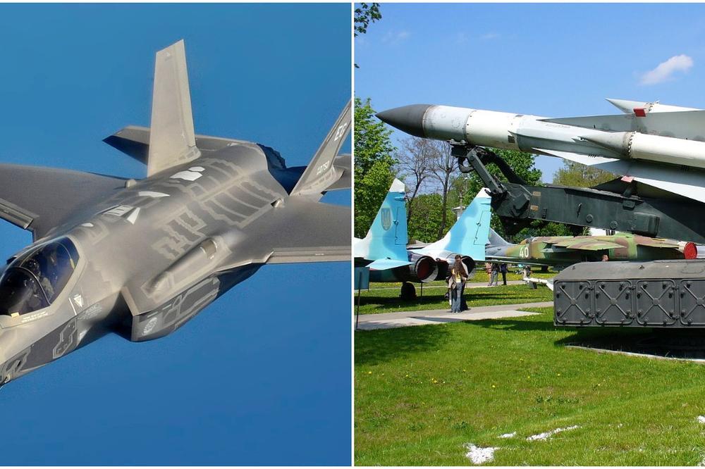 RUSKI SISTEM STAR 50 GODINA OBORIO AMERIČKI PONOS F-35? Šta se to ZAISTA desilo na nebu iznad Sirije ?