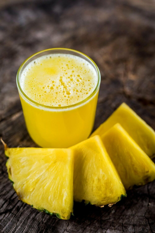 Sok od ananasa, Ananas