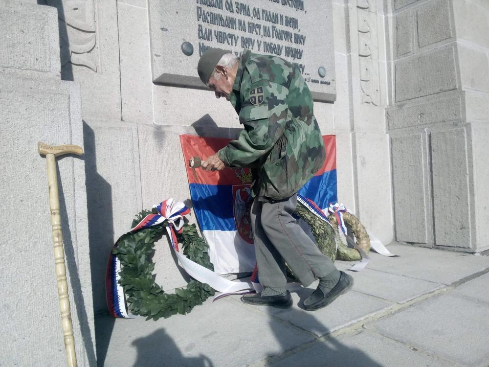 Čuvar srpskog vojničkog groblja Zejtinlik u Solunu, Đorđe Mihailović