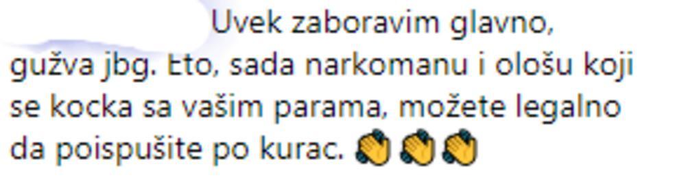 Sergejevi pratioci imaju poruku za sve hejtere