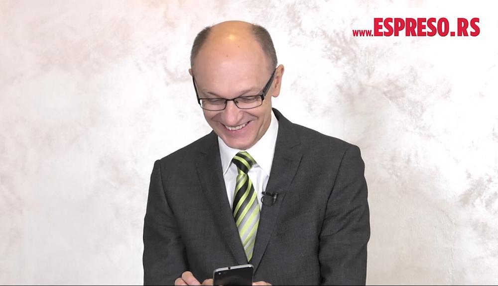 Goran Trivan u emisiji Espreso Tviter