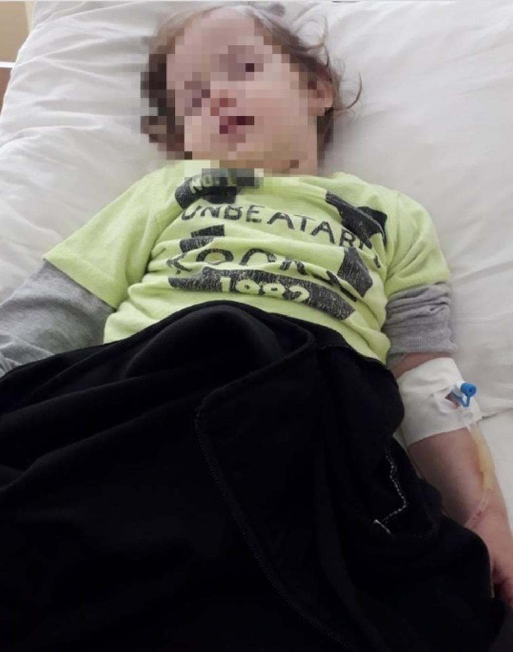 Ćerka Maje Racić dehidrirana leži u bolnici