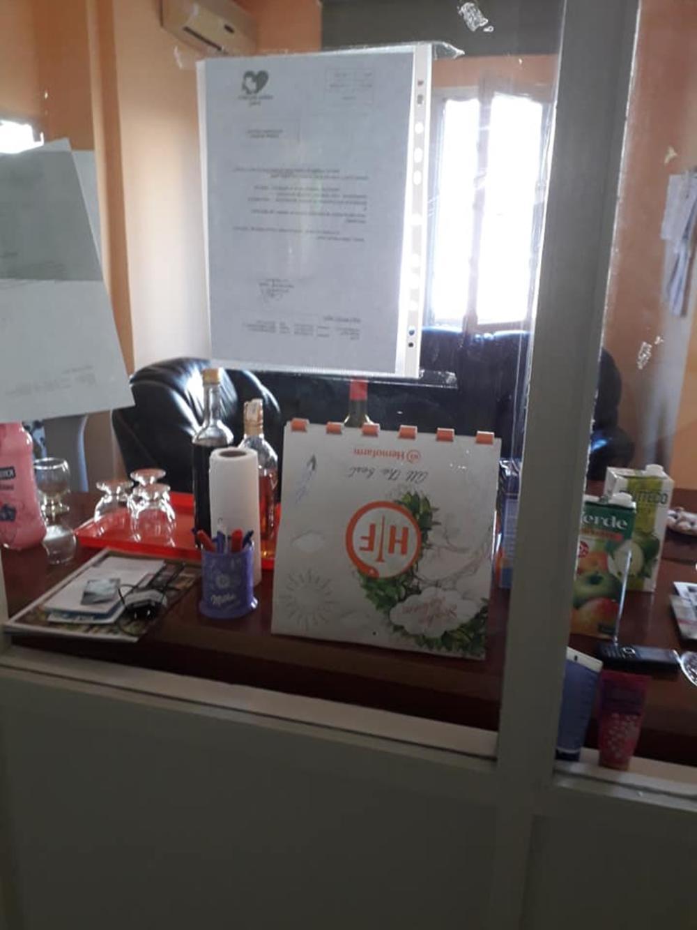 Rakija i čašice u bolnici u Vršcu