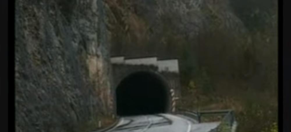 Tunel Brodar na putu između Višegrada i Rudog, u kome je Mikajlo bio zarobljen