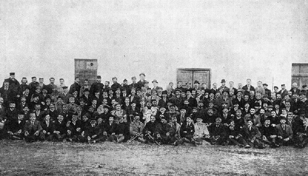 Učesnici Velike narodne Skupštine u Podgorici