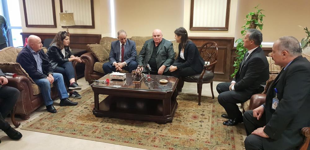 Dragan Marković Palma dočekan u Egiptu