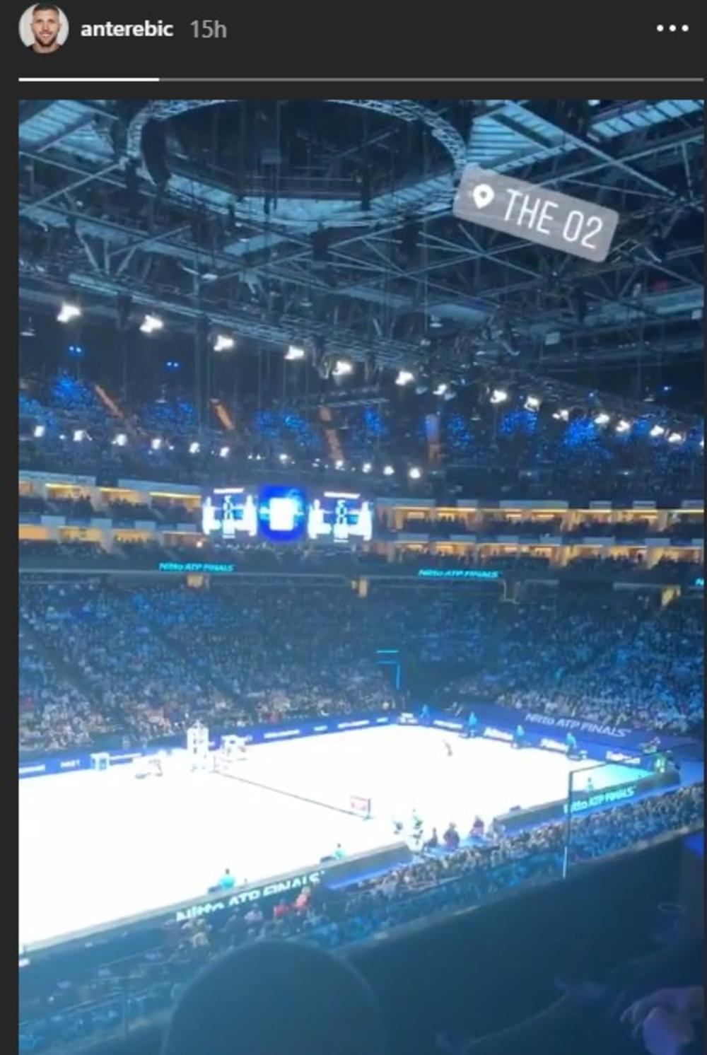 Anti Ribian released a rehearsal for Djokovic in London