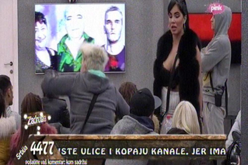 SKANDALOZAN NAPAD ALEKSANDRE: Udarila na Milana Miloševića! (VIDEO)