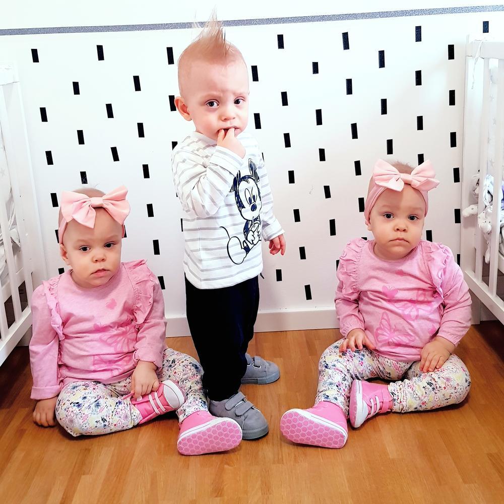 Lazar, Valerija i Valentina danas imaju 2 godine