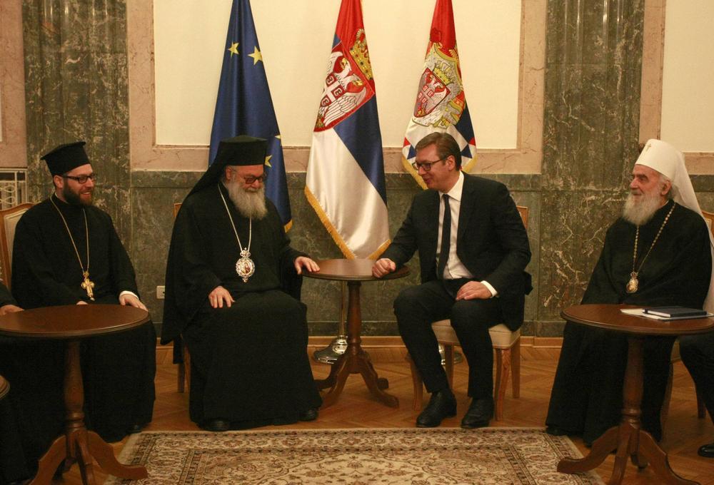 Srpska Pravoslavna Crkva u potpunosti podržava odluku Predsednika Srbije
