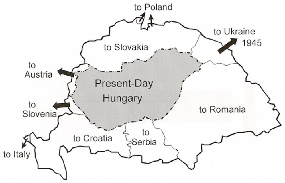 Hrvati U Panici Zbog Mape Velike Mađarske Srbiji Su Uzeli Celu