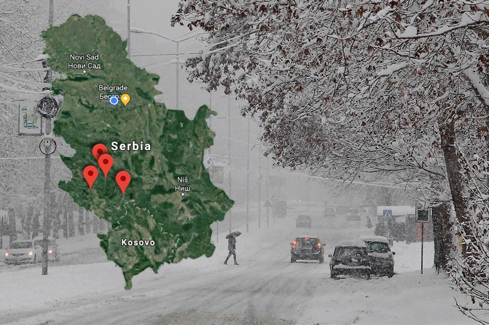U Srbiju Stiže Sneg Tačno Ovog Datuma Meterolozi Najavili