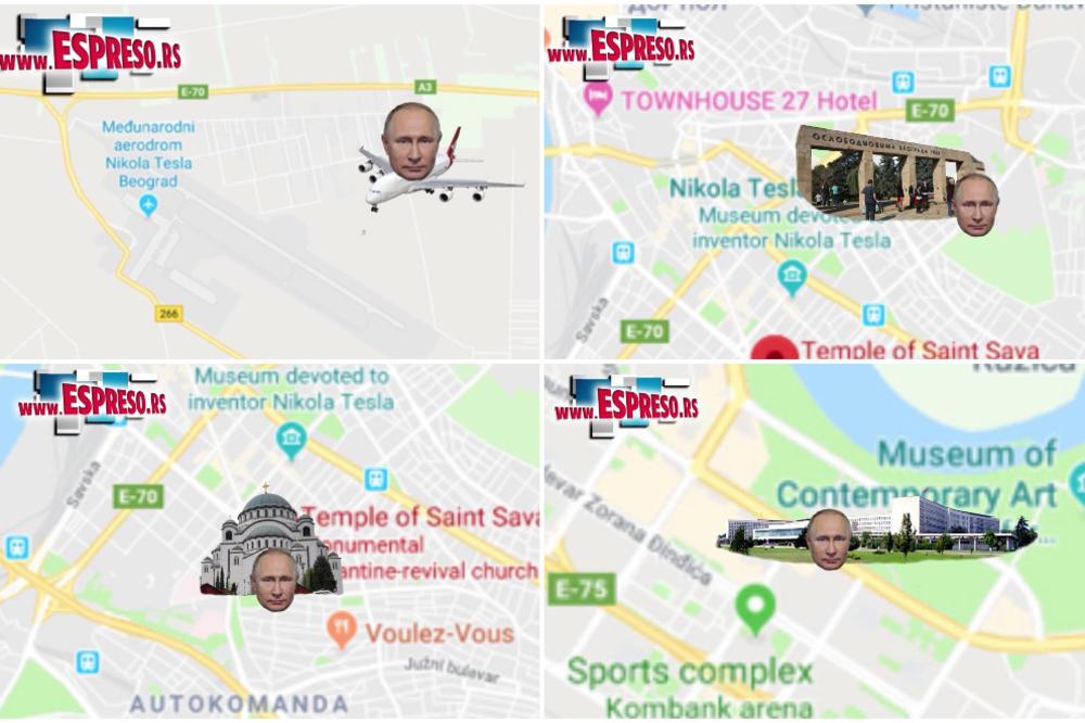 Putin Slece U Srbiju I Obilazi Ova Mesta Otkrivamo Detalje Posete