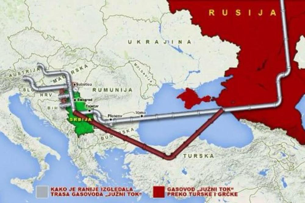 Tranzit Gasa Ide Od Turske Do Srbije Bugari Odobrili Turski Tok