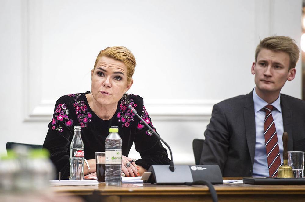 Ministarka za emigraciju Inger Stojberg