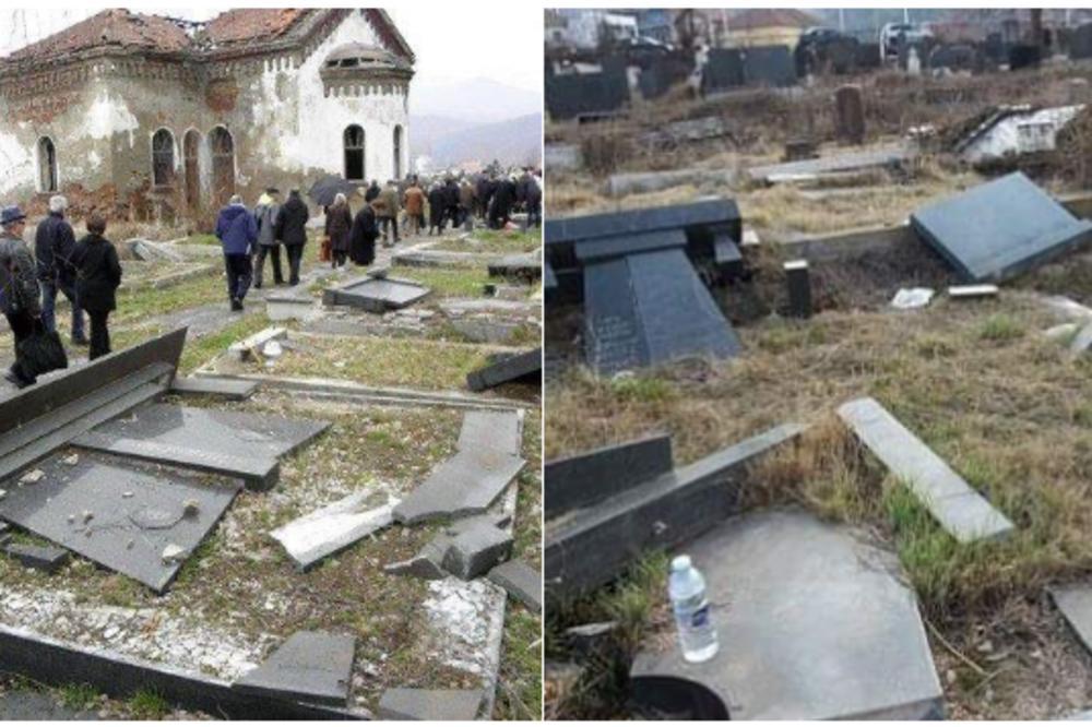 SRBI SA KOSOVA, NA ZADUŠNICE DOŠLI SU DO GROBOVA SVOJIH NAJMILIJH! Zatekli su prizor koji slama
