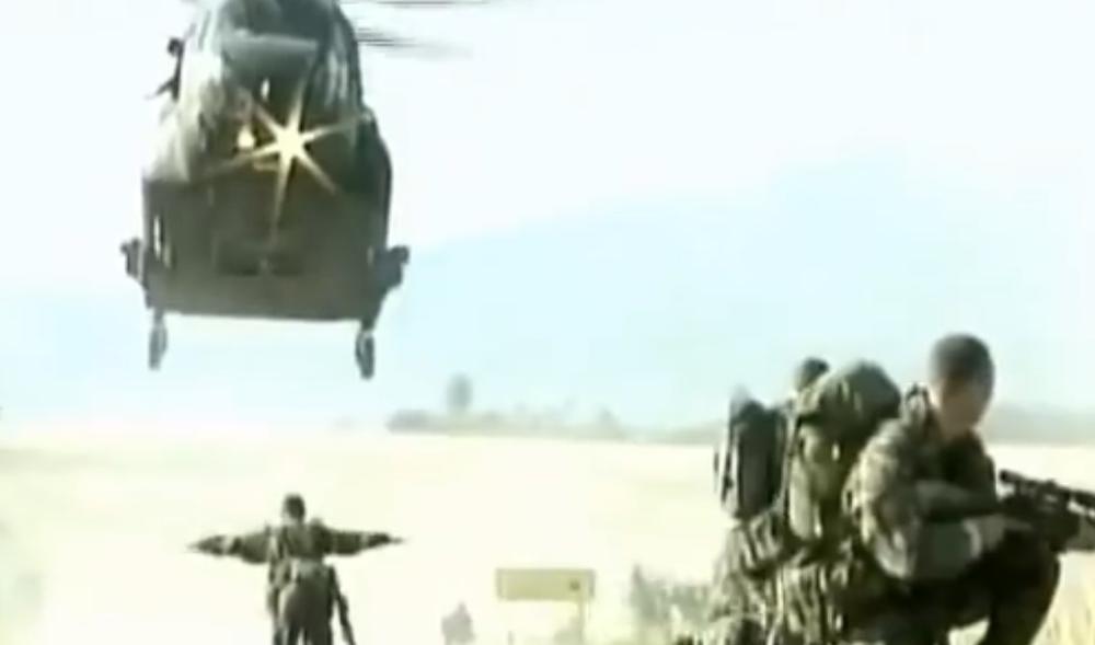 Baer je ispričao da je 12. januara 1991. godine stigao helihopterom u Sarajevo.